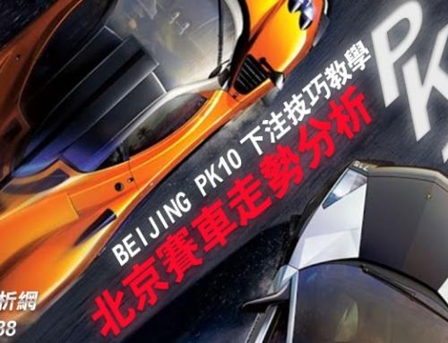 走勢分析(六碼計畫Part2)-北京賽車下注技巧教學